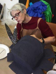 Karla Ptacek at the Macanudos Workshop