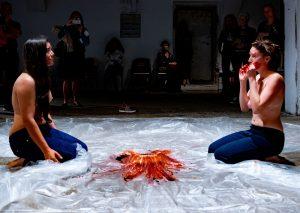 KNOT Festival - Claudia Urrutia and Violetta Graveline. Foto: Thomas Hauzenberger.