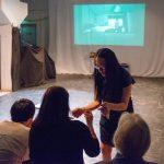KNOT Festival - Offene Bühne. Gina Saggiante Montero. Foto: Thomas Hauzenberger.