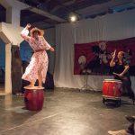 KNOT Festival - Offene Bühne. Volha Karankevich-Koch and Patrizia Bradley-Sorgenfrei. Foto: Thomas Hauzenberger.